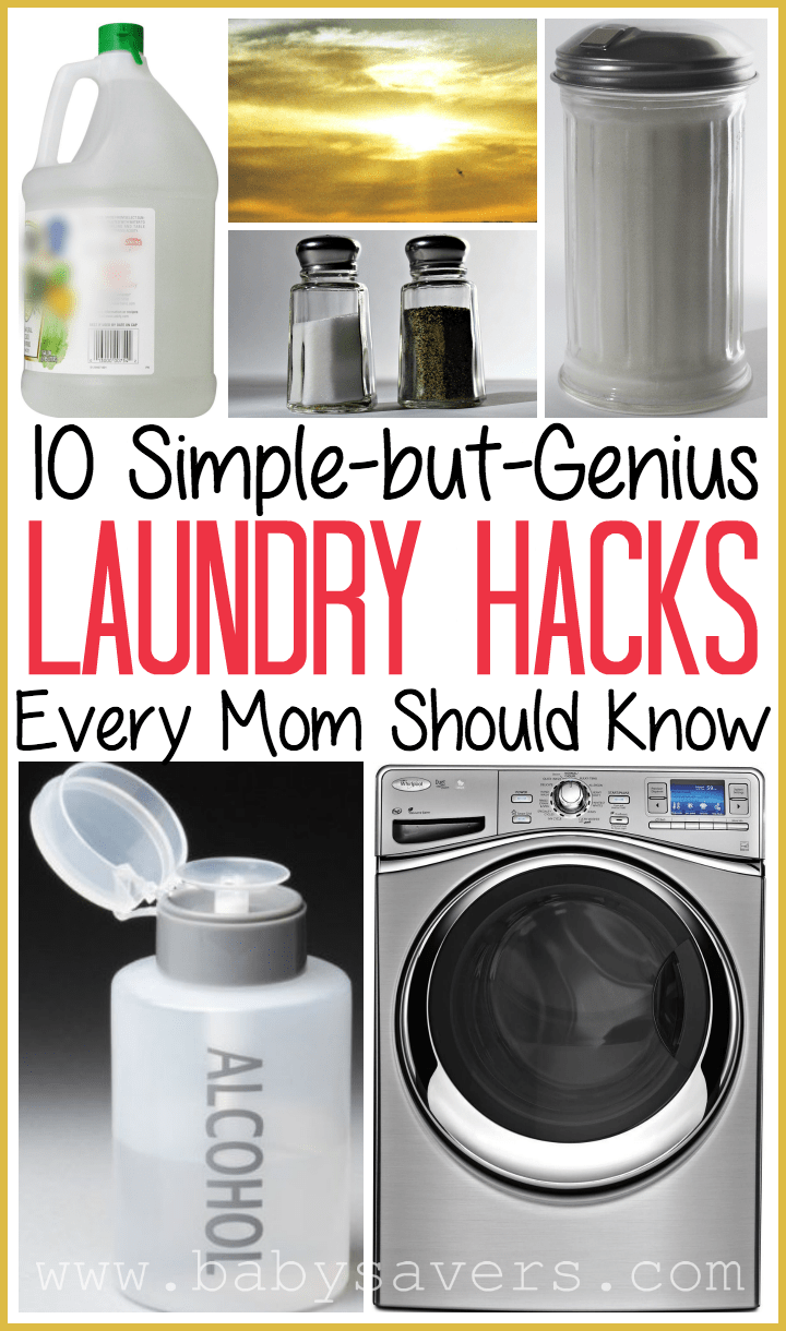 Top laundry hacks every mom should know