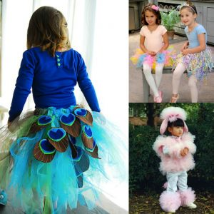 DIY Halloween costumes made with tutus