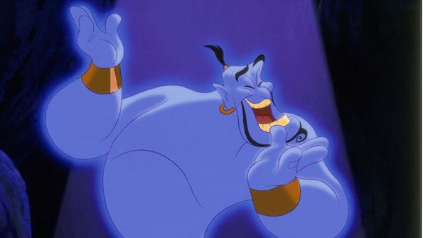 Aladdin diamond edition robin williams