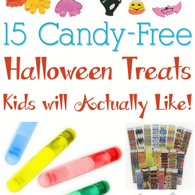 Candy free Halloween treats kids will actually like!