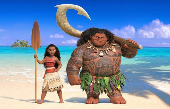 who's playing moana