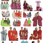 Matching Family Pajamas for Christmas and Holiday Photos