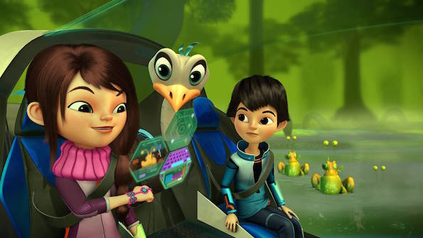Miles from Tomorrowland girls stem