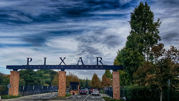 pixar animation studios tour gates