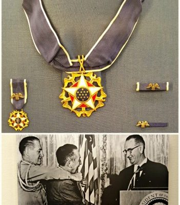 Walt Disney presidential medal of honor