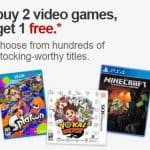 Target Online Deal: Buy Two Video Games Gt One Free! PLUS 5% off with RedCard + FREE Shipping!
