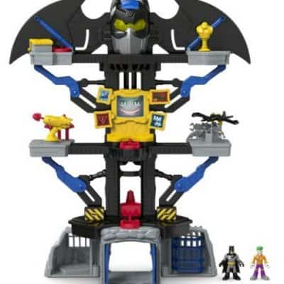 Save 50% on the Fisher-Price Imaginext DC Super Friends Transforming Batcave, Free Shipping