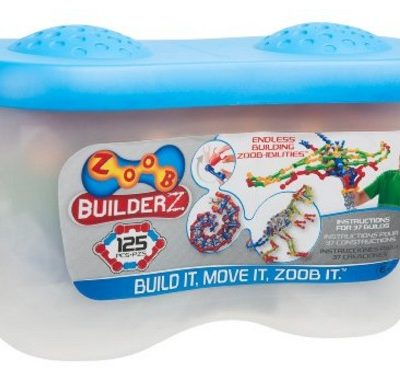 Save 59% on the ZOOB 125 Piece Building Set, Free Shipping Eligible!