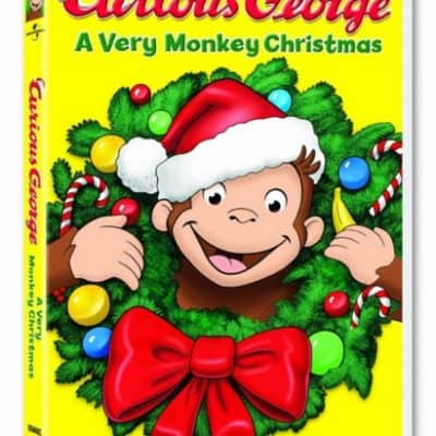 Save 67% on Curious George: A Very Monkey Christmas on DVD, Free Shipping Eligible!