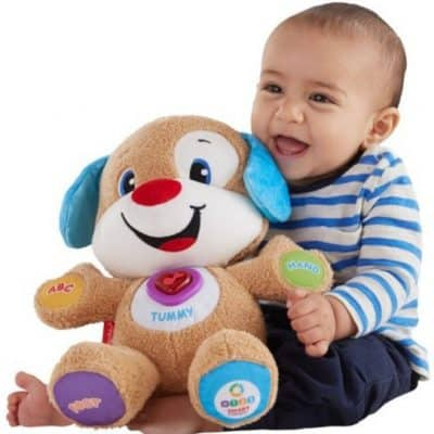 Save 40% on the Fisher-Price Laugh & Learn Smart Stages Puppy, Free Shipping Eligible!
