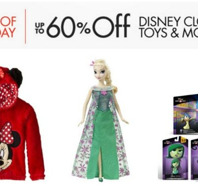 Save Up To 60% on Disney Clothing, Toys & More! Free Shipping Eligible!
