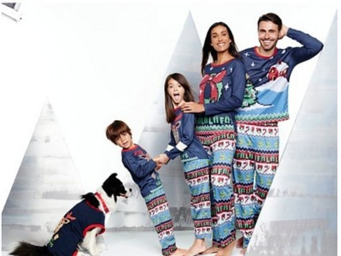 pajamas for the family with cute holiday family collections - Target Christmas Pjs