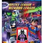 LEGO: DC Comics Super Heroes: Justice League vs. Bizarro League on DVD with MiniFigure only $6, Free Shipping Eligible!