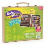 Save 70% on the 131-Piece Deluxe Art Set With Wood Case, Free Shipping Eligible!