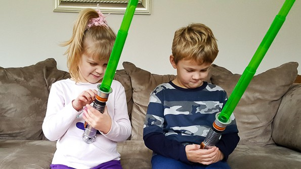 Star Wars Bladebuilders Light Saber review