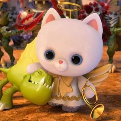 Disney-Pixar's TOY STORY THAT TIME FORGOT Angel Kitty Quotes