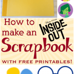 How to Make an Inside Out Scrapbook with Free Printables