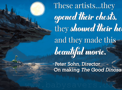 peter sohn on making the Good Dinosaur