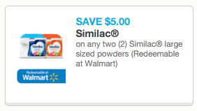 photograph relating to Printable Formula Coupons titled $5 Similac Printable Coupon