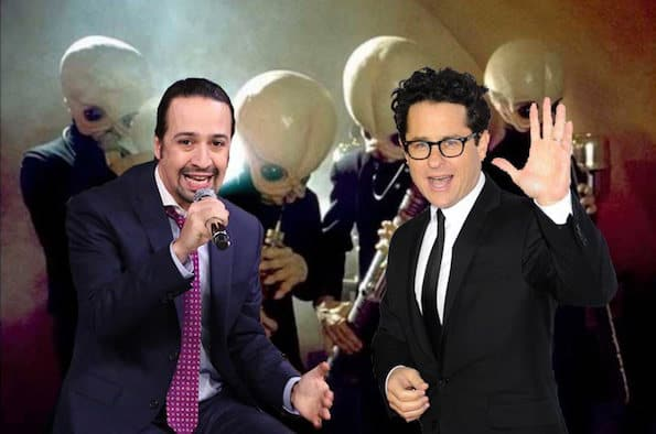 Lin Manuel Miranda Star Wars and J. J. Abrams