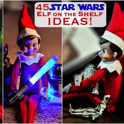 Star Wars Elf on the Shelf Ideas: 45 Ways Help Your Elf use The Force