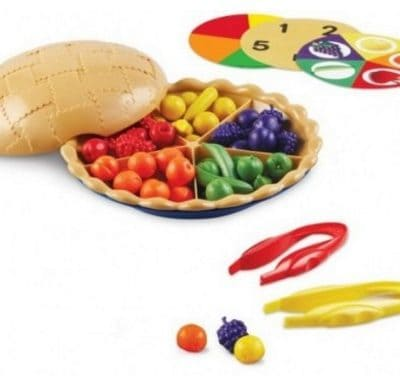 Save 60% on the Learning Resources Super Sorting Pie, Free Shipping
