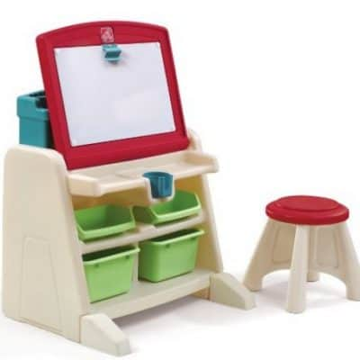 Save 34% on the Step2 Flip and Doodle Desk with Stool Easel, Free Shipping Eligible!