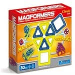 Save 40% on Magformers Classic 30 Piece Set, Free Shipping Eligible!