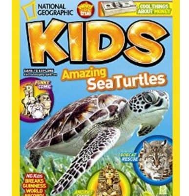 Save 62% off National Geographic Kids Magazine! Great Gift Idea!