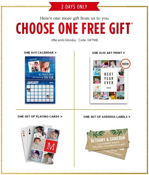of 4 great freebies right now when you use Shutterfly.com promo code ...