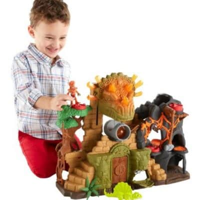 Save 36% on the Fisher Price Dino Fortress, Free Shipping Eligible!