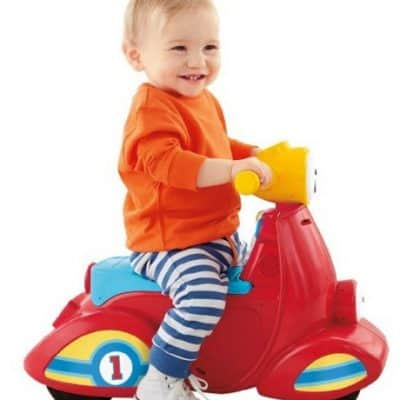 Save 47% on the Fisher-Price Laugh & Learn Smart Stages Scooter, Free Shipping Eligible!