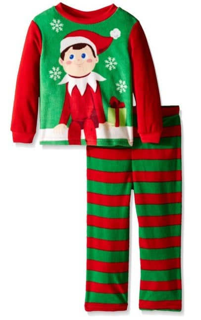 save 60 on the elf on the shelf 2 piece pajama sets free. Black Bedroom Furniture Sets. Home Design Ideas