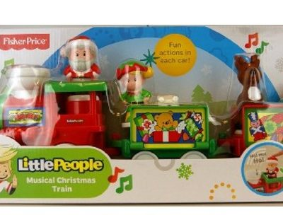 Save 26% on the Fisher-Price Little People Musical Christmas Train, Free Shipping Eligible!