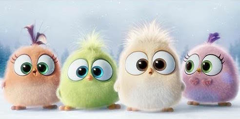 Baby birds from Angry Birds