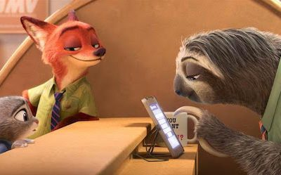 Disney zootopia sloths