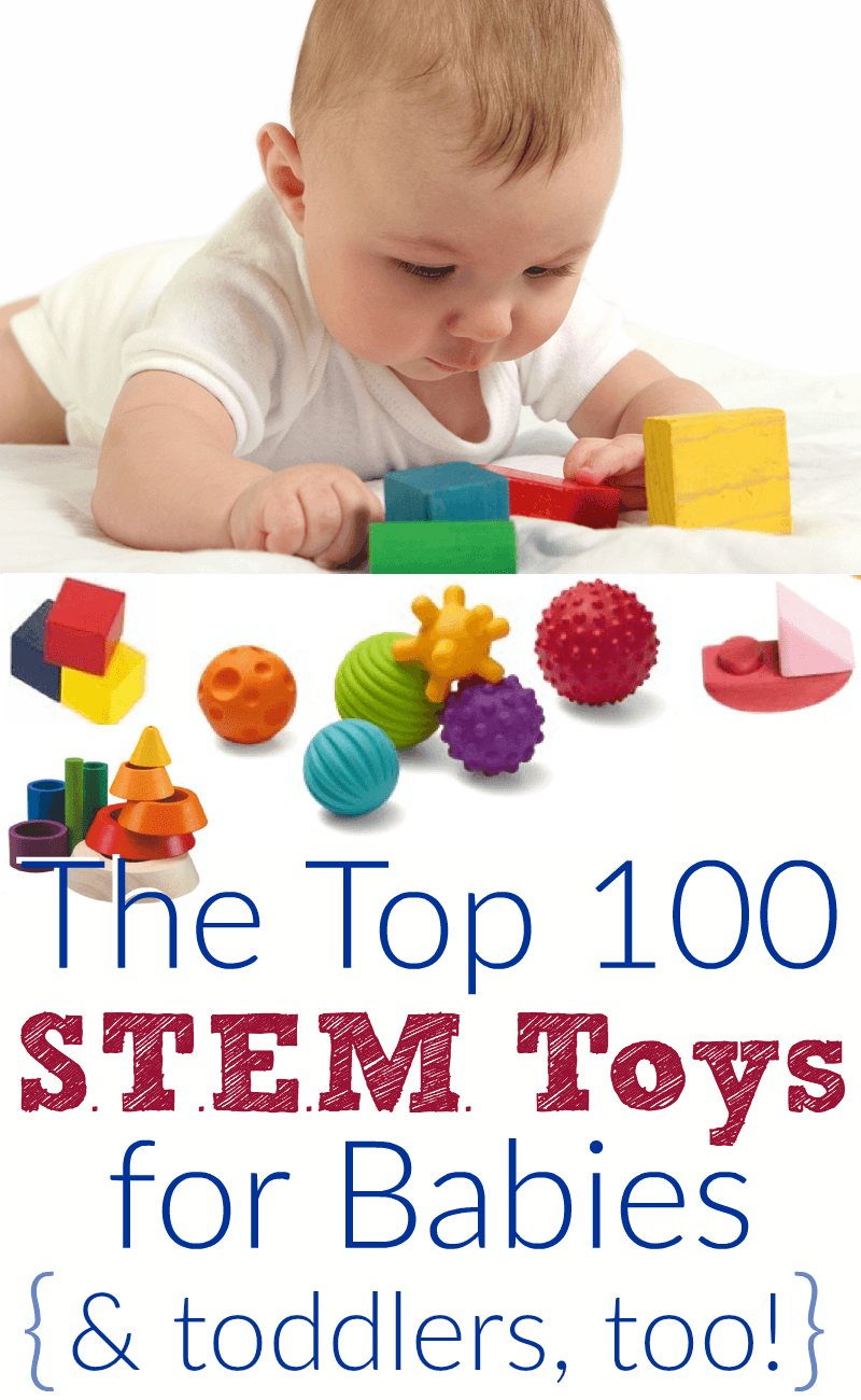 Top Toys For Toddlers : Top educational baby toys for stem learning