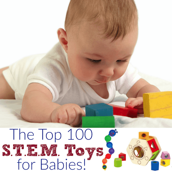 Educational baby toys for STEM learning