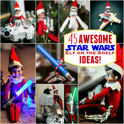 Star Wars Elf on the Shelf Ideas