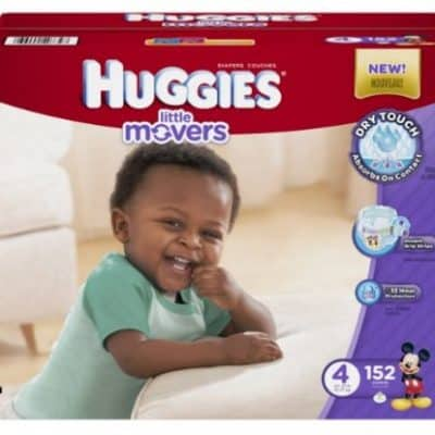 Amazon Diaper Deal: Huggies Little Movers Diapers 35% off Coupon, Free Shipping Eligible!