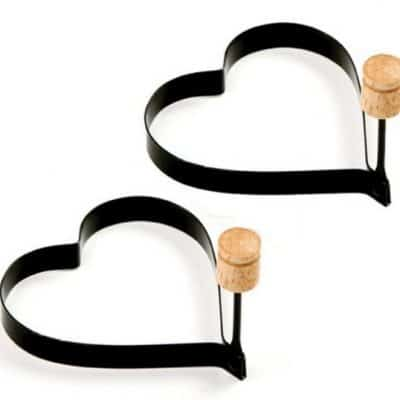 Save 29% on the Norpro Nonstick Heart Pancake Egg Rings, Free Shipping Eligible!