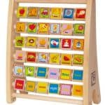 Save 22% on the Hape Alphabet Abacus, Free Shipping Eligible!