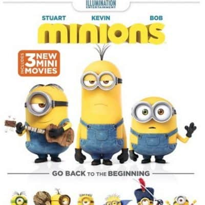 Target Online Deal: Minions [Blu-ray/DVD] only $10