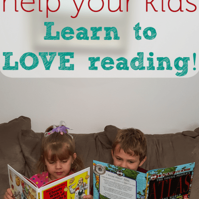 Help children love to read