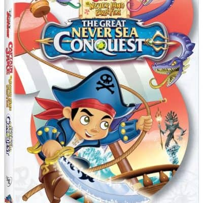 jake and the never land pirates the great never sea conquest dvd review