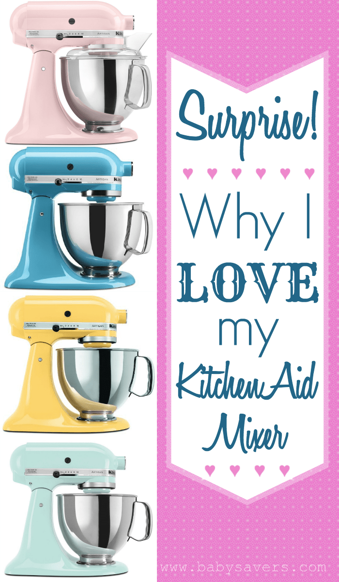 why I love my kitchenaid mixer