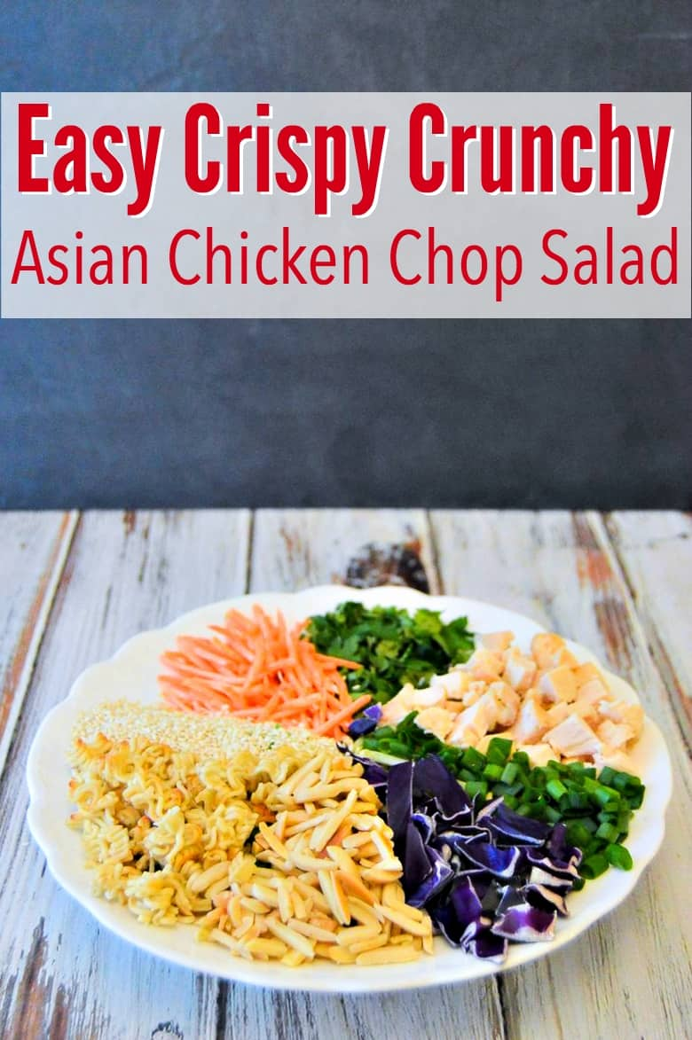 Crunchy Asian Chicken Chop Salad recipe