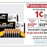 Office Depot/OfficeMax: Duracell Coppertop AA or AAA 16-Count Batteries Only $0.01 After Rewards