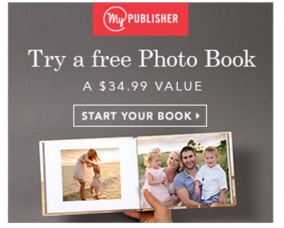 My publisher photo book coupons