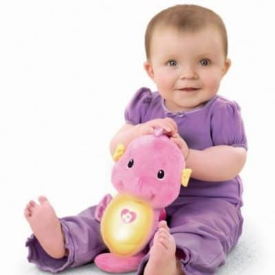 Save 45% on the Fisher-Price Soothe and Glow Seahorse, Free Shipping Eligible!